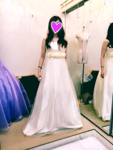 前撮り用ドレスを探しにドレスルームamiに行ってきました♪
