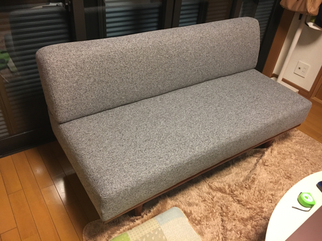 NOCEのソファが到着
