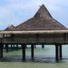 水上レストラン(1) ニューカレドニア旅行5日目