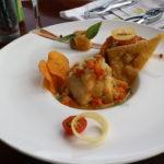 水上レストラン(2) ニューカレドニア旅行5日目
